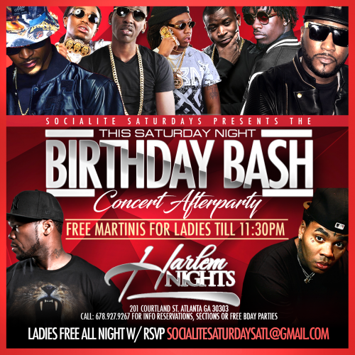 Harlem Nights + VIP Sections