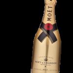 bottle of champagne for NYE