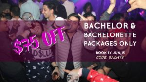 bachelor and bachelorette party bus discount
