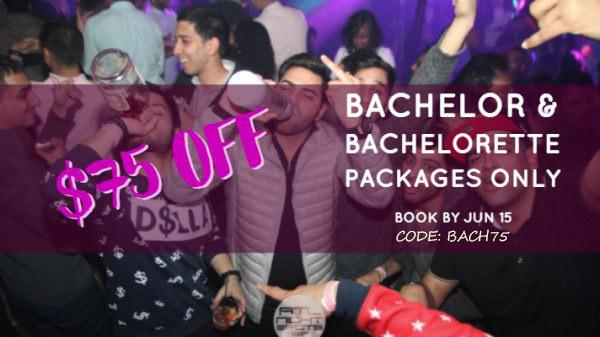 bachelor and bachelorette discount