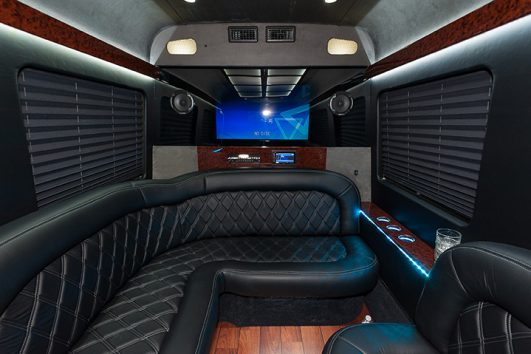 Luxury 10 Passenger Party Bus